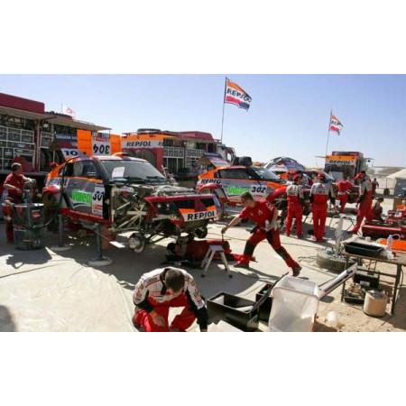 Intégration de l'assistance sur le Dakar...