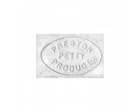 JEU DE TROIS PLAQUES NUMERO PRESTON PETTY BLANCHE