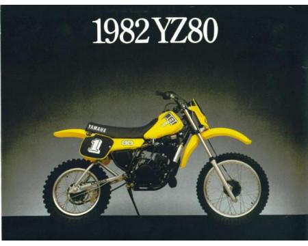 KIT PLASTIQUES YAMAHA YZ60 1982/84