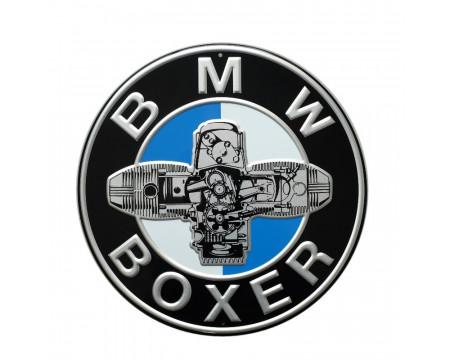PLAQUE DECORATIVE BMW FLAT TWIN