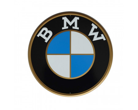 PLAQUE DECORATIVE BMW