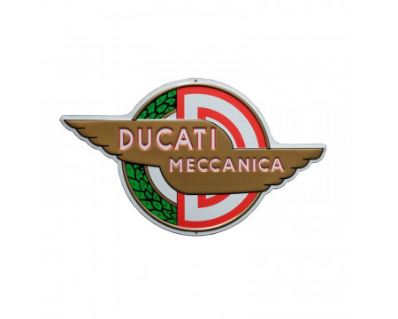 PLAQUE DECORATIVE DUCATI