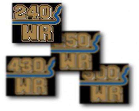 DECOS BOITE A AIR HUSQVARNA 240 WR 1982
