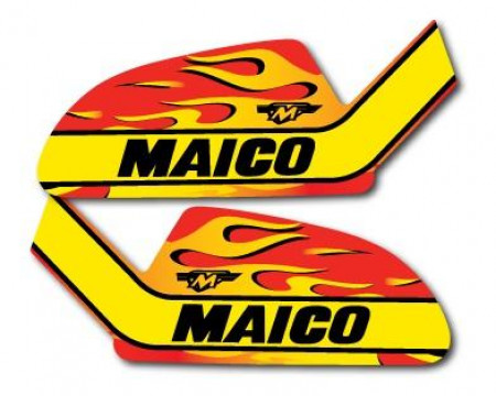 DECOS RESERVOIR FLAMMES MAICO 250 400 440 MC GS 1979