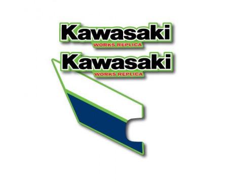 DECOS RESERVOIR PERFOREES ET OUÏES DE RADIATEUR KAWASAKI 125 KX 1985