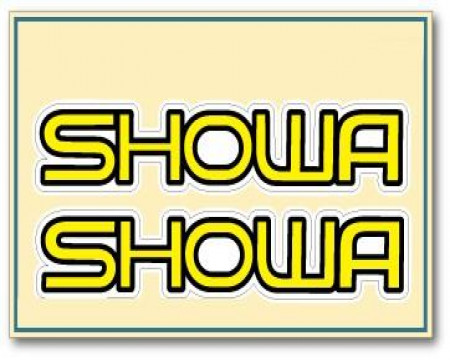 DECOS TUBE DE FOURCHE SHOWA CLASSIQUE HONDA 125 250 500 CR 1973 à 1989