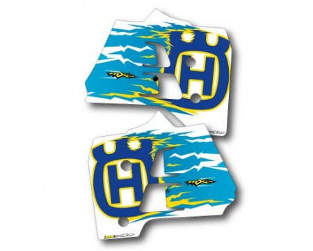 DECOS OUÏES DE RADIATEUR HUSQVARNA 125 250 360 CR WR 1992 1993