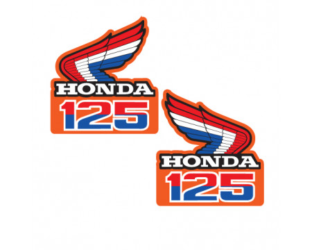 DECOS  OUIES DE RADIATEUR HONDA 125 CR 85