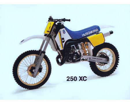 KIT PLASTIQUES HUSQVARNA XC250 XC430 1987/88