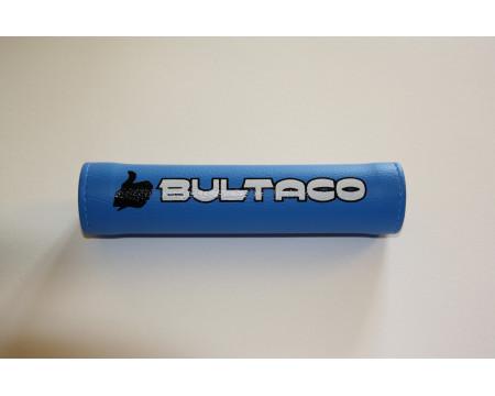 MOUSSE DE GUIDON BULTACO BLEU/BLANC TRIAL