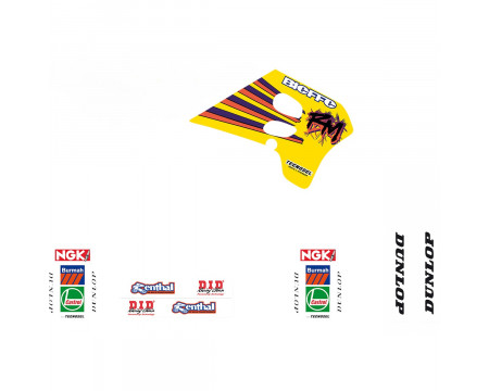 KIT DECO TECNOSEL TEAM SUZUKI 1993 RM125/250 (1993-1995)