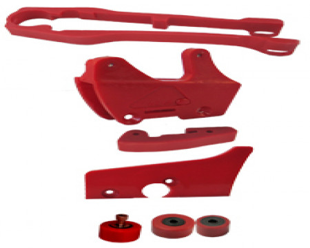 KIT GUIDE CHAINE HONDA 125/250/500 CR 1986