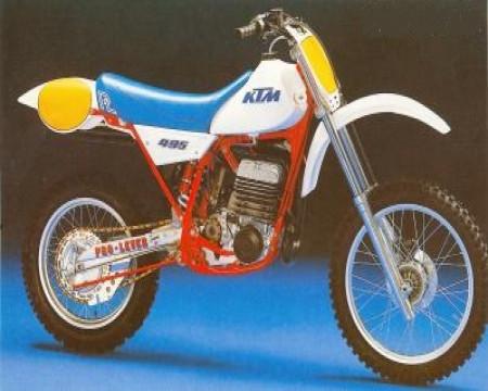 KIT PLASTIQUE KTM MC250 1983