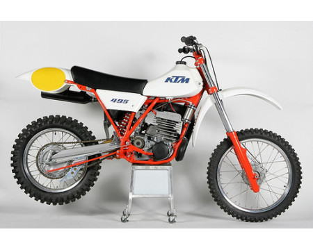 KIT PLASTIQUE KTM MC250 MC495 1982