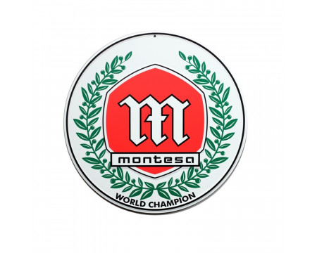 PLAQUE DECORATIVE MONTESA WORLD CHAMPION