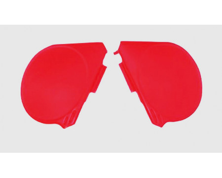 PLAQUES LATERALES CR 250 75/77 ROUGE