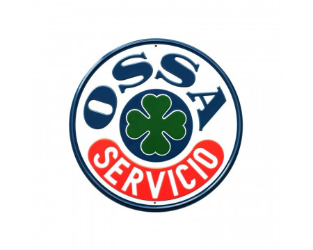 PLAQUE DECORATIVE OSSA Servicio