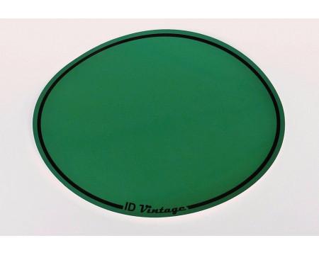 FOND DE PLAQUE ADHESIF OVALE VERT ( Type A )