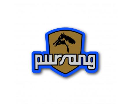 LOGOS DECO BULTACO PURSANG 360-370 CC BLEU
