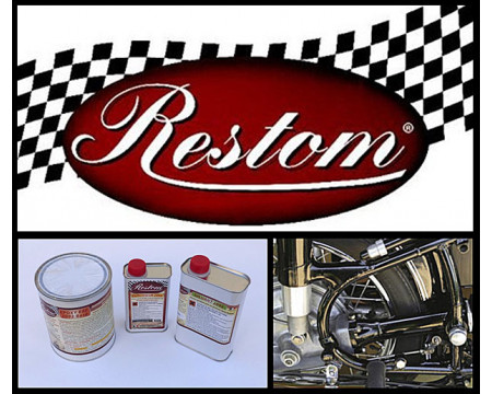 KIT PEINTURE HONDA RED FLASH (R119) EPOXY ANTICORROSION A SECHAGE A L'AIR  POUR PISTOLET
