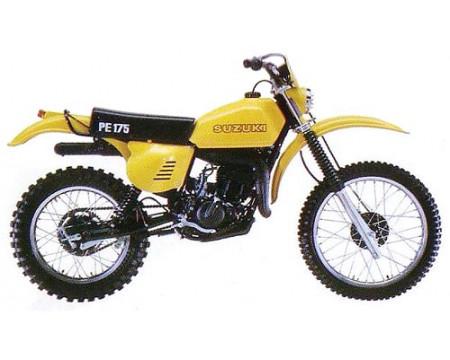 KIT PLASTIQUES SUZUKI PE175 1978/79