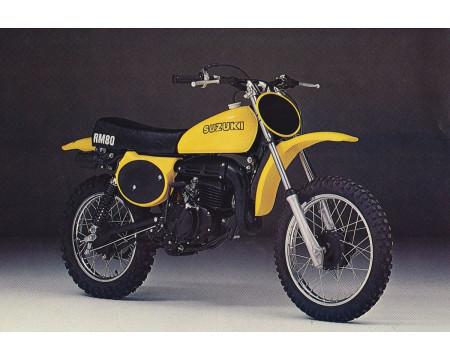 KIT PLASTIQUES SUZUKI RM80 1977/78