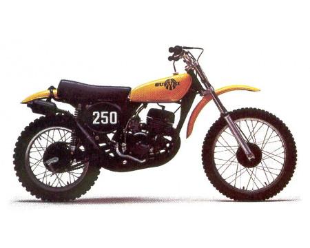 KIT PLASTIQUES SUZUKI TM250 1973/75