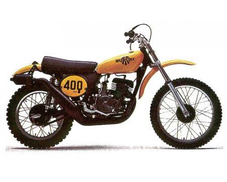 KIT PLASTIQUES SUZUKI TM400 1973/75