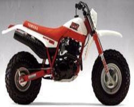 KIT PLASTIQUES YAMAHA BW350 1987/88