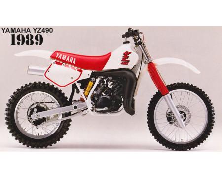 KIT PLASTIQUES YAMAHA YZ490 1986/90